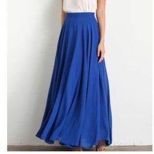 Lucy Paris Royal Blue Skirt